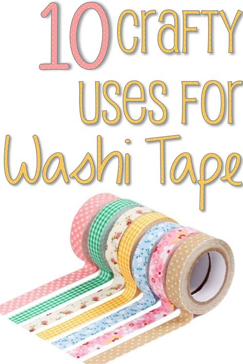 what is washi tape for 10 crafty uses for washi tape you put it up