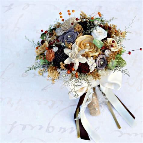 Autumn Silk Wedding Flowers by Autumn Wedding Bouquet Fall Colors Fall Bridal Bouquet