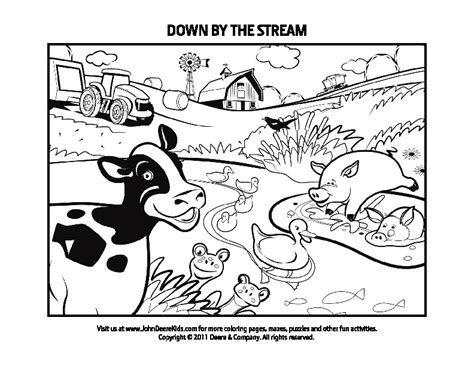 johnny tractor coloring pages coloring pages