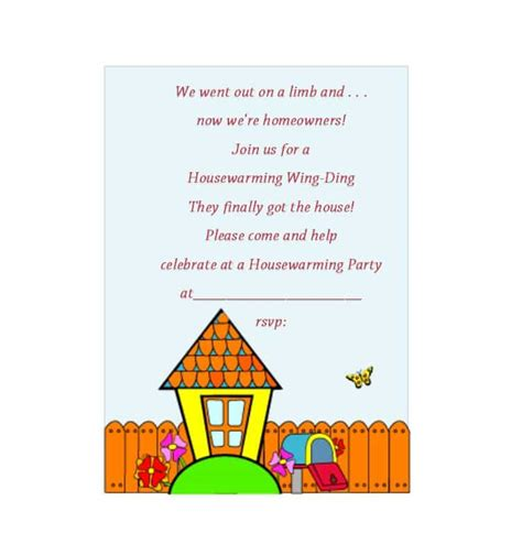 40 Free Printable Housewarming Party Invitation Templates Housewarming Invitation Template
