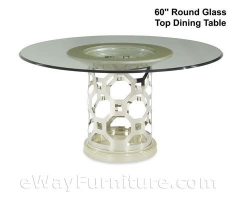 Glass Top Dining Table Set by Glass Top Dining Table Set In Pearl