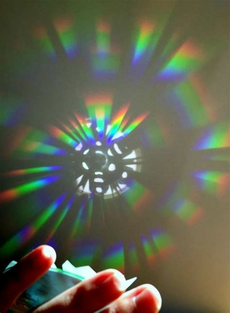 rainbow light s one side effects rainbow science creating light patterns with a cd buggy