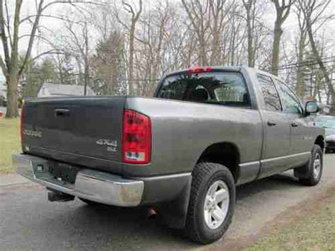 dodge ram 1500 cab gas mileage buy used dodge ram cab 2003 low mileage clean 4x4