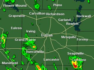 dallas texas weather map wfaa national weather radar