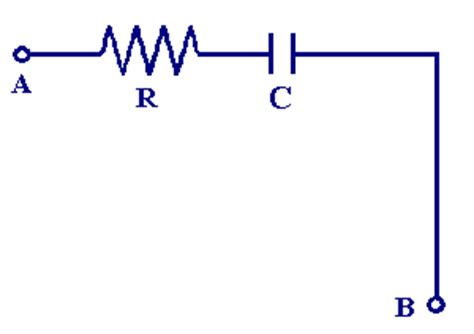 a resistor and capacitor in a series ac circuit mastering physics resistors and capacitors in series department of