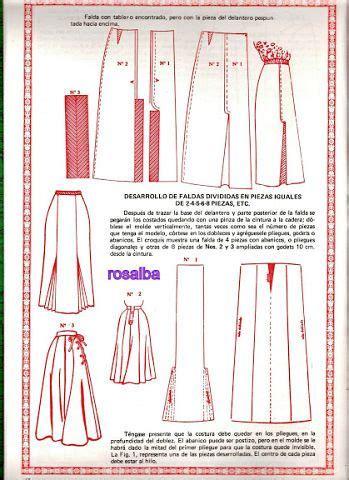 metodo de corte y confeccion quot metodo de corte y confeccion quot skirts sewing draft