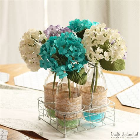 centerpiece craft diy centerpieces floral vases crafts unleashed