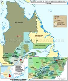 52 States Of America List quebec map map of quebec countries in quebec