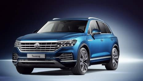 volkswagen touareg 2018: prices, specs and release date