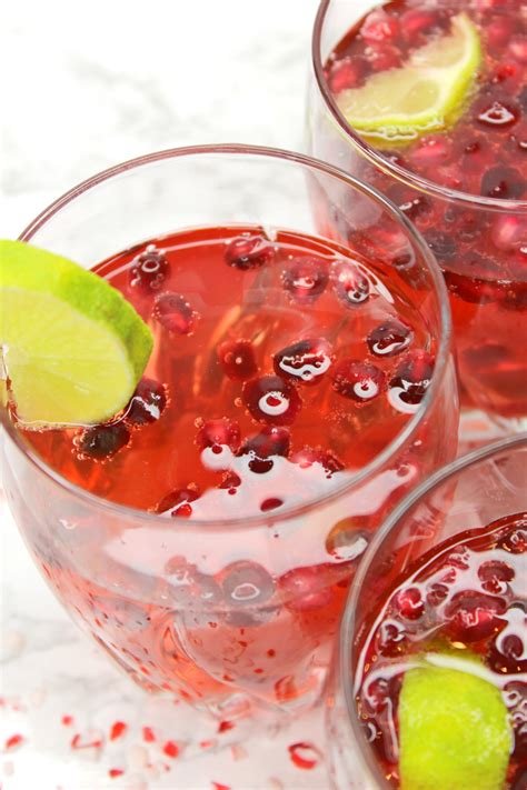 Celebrate The Holidays With Pomegranate 7up by Delicious Pom Spritzer Cocktail Diary Of A Debutante