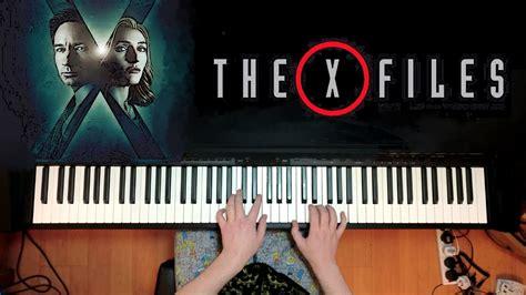 piano tutorial x files theme x files theme piano solo youtube