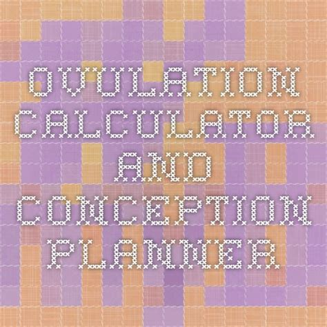 Conception Calendar 25 Best Ideas About Ovulation Calculator On