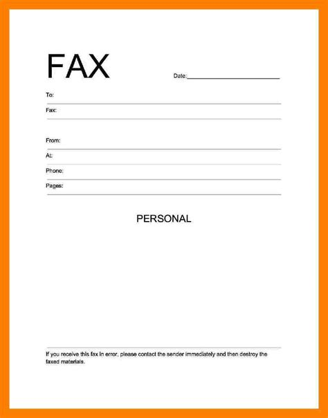 8 pdf fax cover sheet xavierax