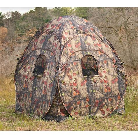 Pop Up Ground Blind Guide Gear 174 Pop Up Ground Blind 217896 Ground Blinds At