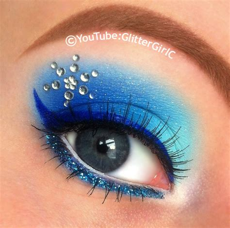 queen elsa makeup tutorial frozen elsa makeup glittergirlc