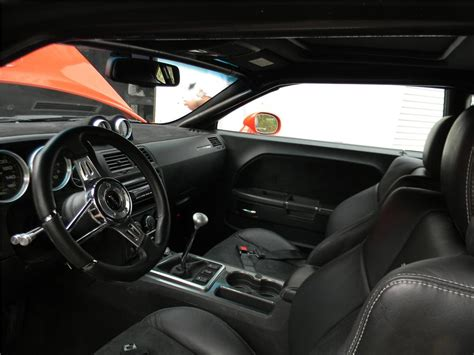 Custom Challenger Interior by 2009 Dodge Challenger Srt8 Custom 2 Door Coupe 170122