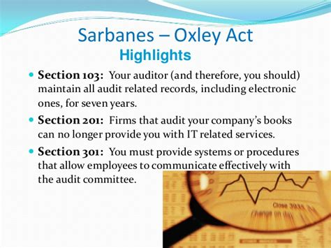 sarbanes oxley section 301 worldcom and enron