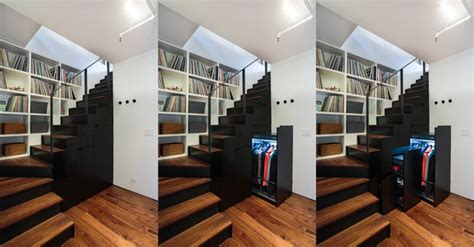 noho duplex contemporary staircase  york