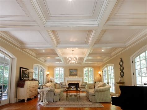 Houzz Ceiling Designs by Coffered Ceilings