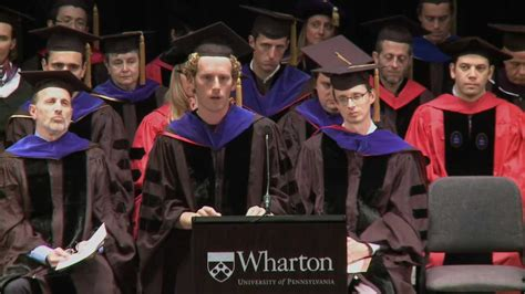 Whartone 1 Year Mba by Wharton Mba Convocation Class Of 2014