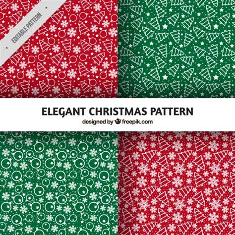 elegant pattern ai pack of elegant patterns hand drawn christmas decorations