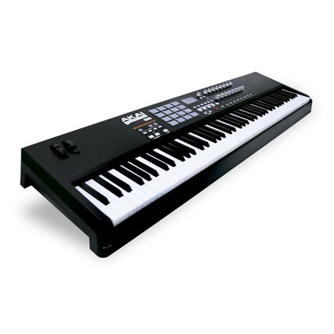 Keyboard Midi akai mpk88 midi keyboard 88 key midi keyboard from inta audio uk