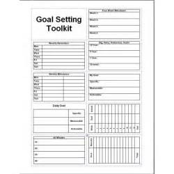 Goal Journal Template by 8 Goal Setting Freeware Options For Helping You Meet All