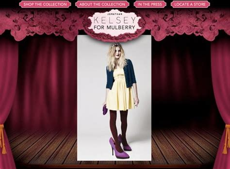 Mulberrys From 2007 Available Now jonathan kelsey for mulberry available now