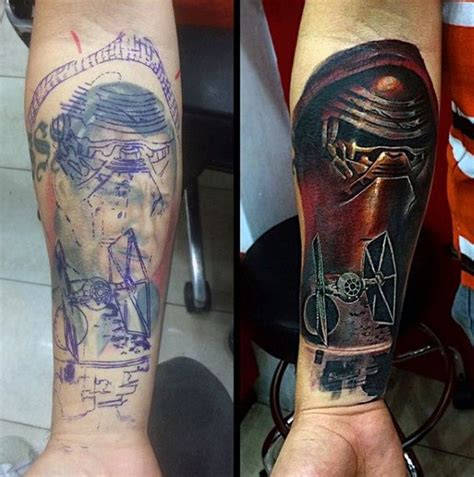 cover up tattoo ideas for men 60 cover up ideas for before and after designs