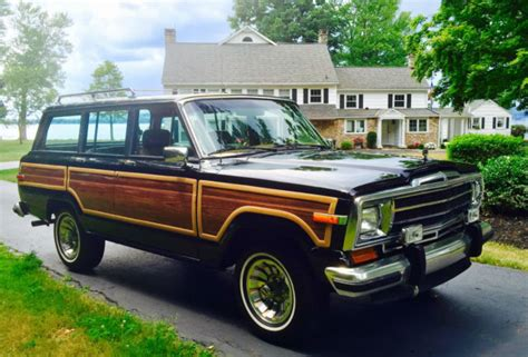 1986 Jeep Grand Wagoneer 1986 Jeep Grand Wagoneer By Grand Wagoneer By Classic