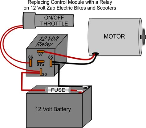 on a zap bike how do i convert a module to a relay