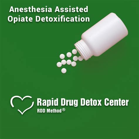 Anesthesia Assisted Detox by Anesthesia Assisted Opiate Detoxification Rapid Detox