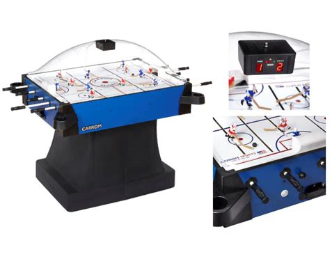 carrom hockey table parts 187 carrom signature stick hockey table with pedestal