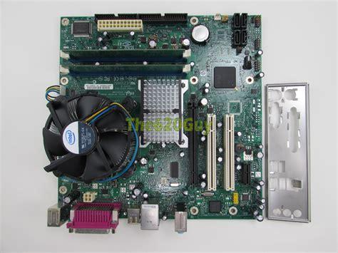 Ram Cpu Pentium 4 intel d945plnm motherboard d30652 308 pentium 4 3 4ghz