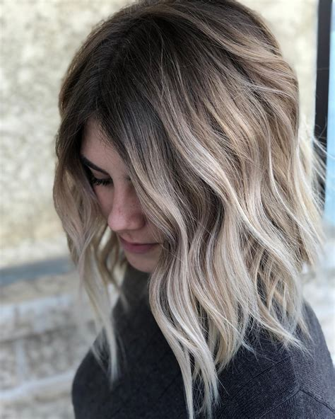 Hairstyles For Ombre Hair by 10 Balayage Ombre Hair Styles For Shoulder Length Hair