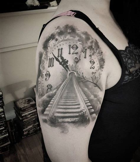 track tattoos designs 17 best ideas about clock design on