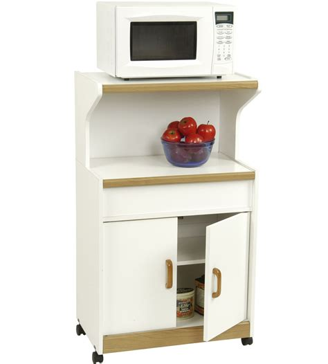 microwave cart with cabinet in kitchen island carts