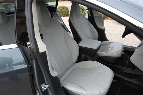 Tesla Grey Interior 2012 Tesla Model S Sedan For Sale