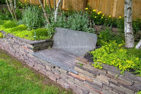 stone benches for gardens under tree patio bench raised bed stone garden bench in
