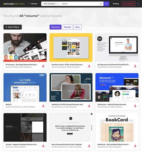 18 Best Html Resume Templates For Awesome Personal Websites 2018 Best Resume Template Websites