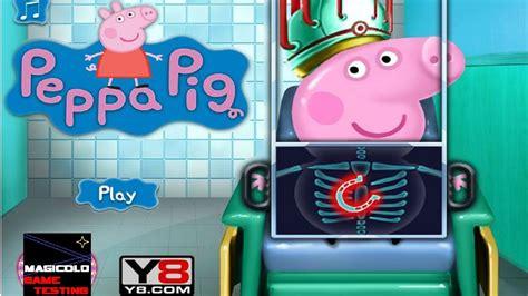 on y8 y8 to play peppa pig doctor gameplay on y8