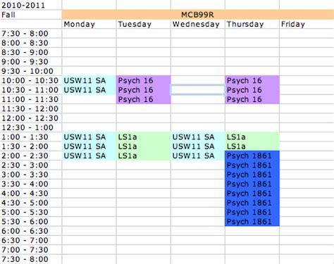 Mba Year Schedule by Harvard College Student 183 It S What I Go To School For
