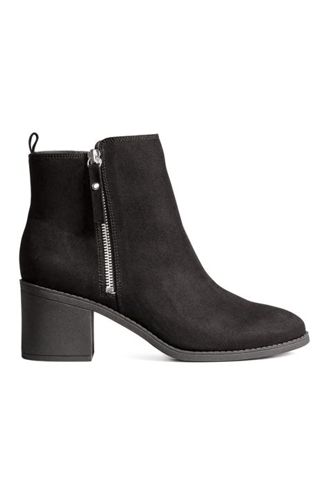 m and s shoes ankle boots black h m us