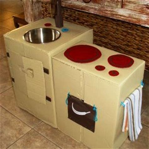 cardboard box kitchen ted s