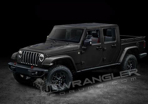 jeep wrangler pickup concept 2019 jeep wrangler pickup looks scrambler rific in latest