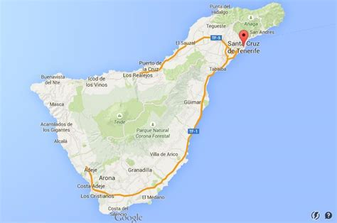 tenerife on a world map where is santa on map of tenerife world easy guides