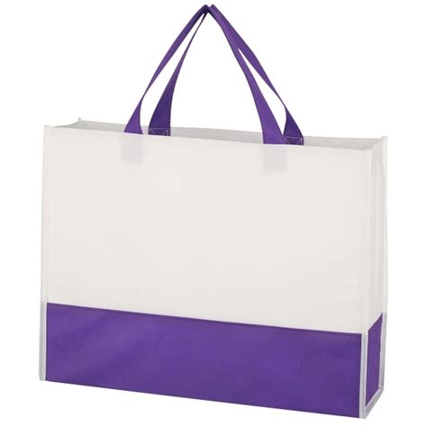 Totebag Prism non woven prism tote bag printed shopping bags