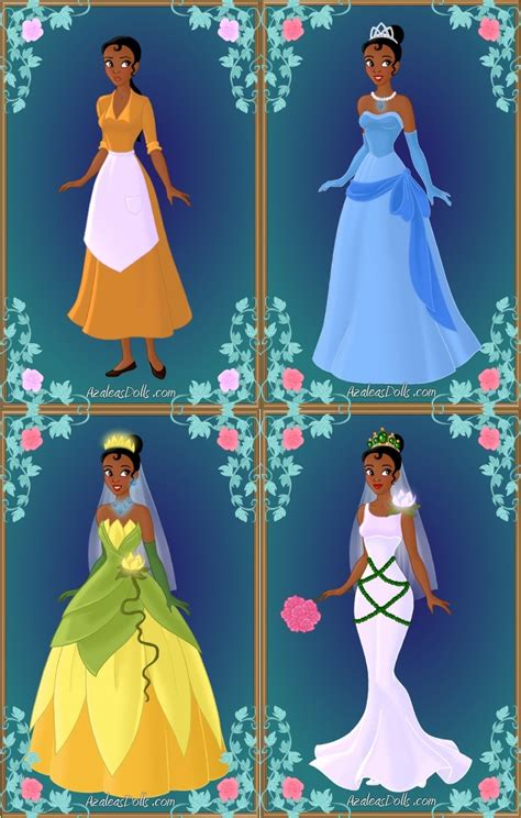 Princess Tiana's Wardrobe by LadyAquanine73551 on DeviantArt