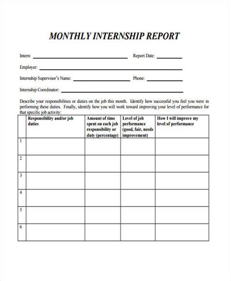 internship pdf templates 37 report templates in pdf free premium templates