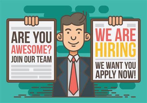 layout artist hiring cavite now hiring vector illustration download free vector art